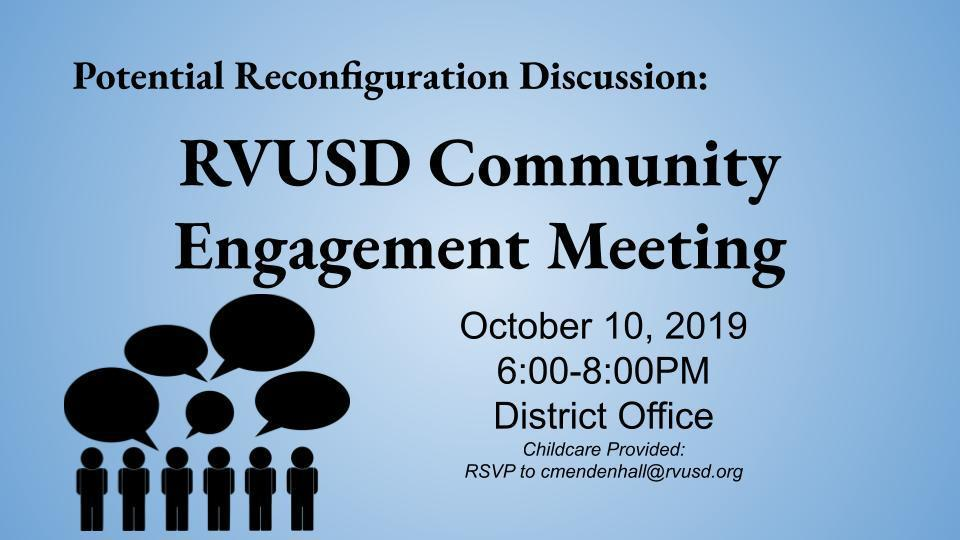 Community Engagement Meeting October 10th