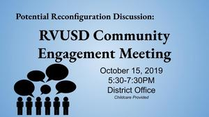 Community Engagement Meeting October 15th