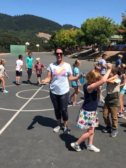 Miss Knapp, third grade PE