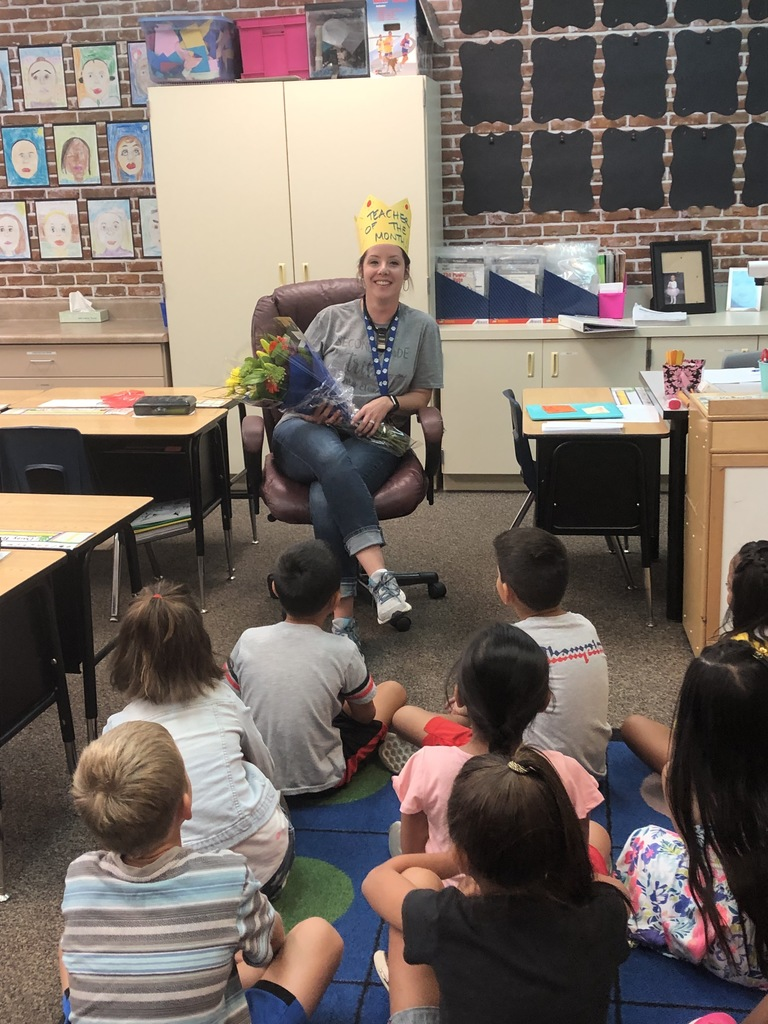 RVUSD Teacher of the Month, Mrs. Gallaway