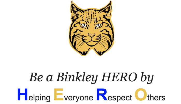 Be a Binkley HERO